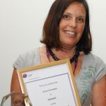 Photo of Jenny Coombes ward manager