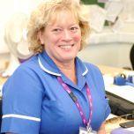 Photo of Kim Shoosmith staff nurse