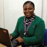 Photo of Valerie Acheampong student school nurse