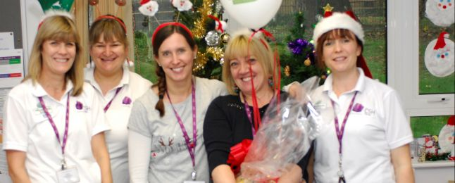 Five CSH nurses smiling